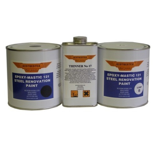 RUSTBUSTER EPOXY MASTIC 121 RUST PROOFING PAINT