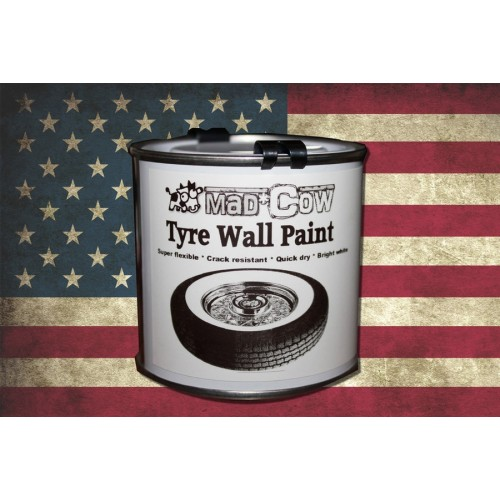 TYRE WALL PAINT WHITE