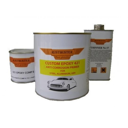 RUSTBUSTER CUSTOM EPOXY 421 RUST PROOFING PRIMER